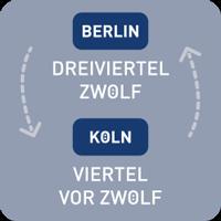 OCUVIA® · Wortuhr Lisa · regionale Sprachen · Wortuhren-Manufaktur Berlin